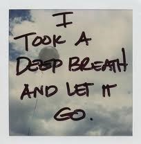 Sometimes it's not as simple as just letting go.